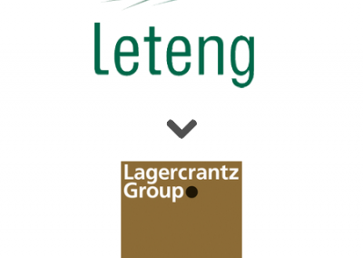 Leteng solgt til Lagercrantz
