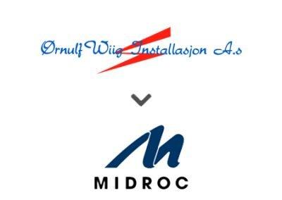 Ørnulf Wiig Installasjon AS solgt til Midroc Electro